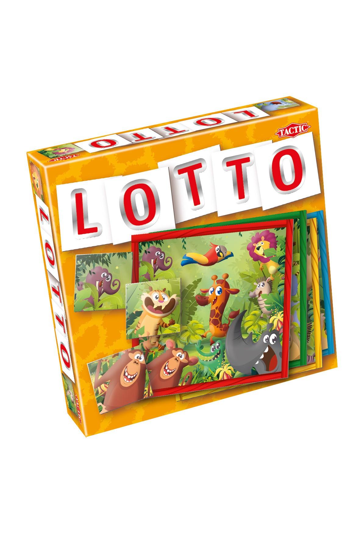 Gra planszowa Lotto - Dżungla wiek 3+