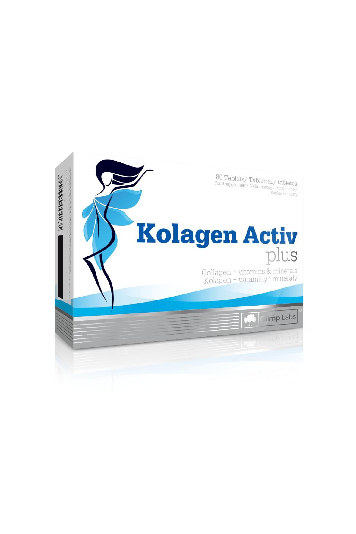 Kolagen Activ Plus OLIMP 80 tabletek