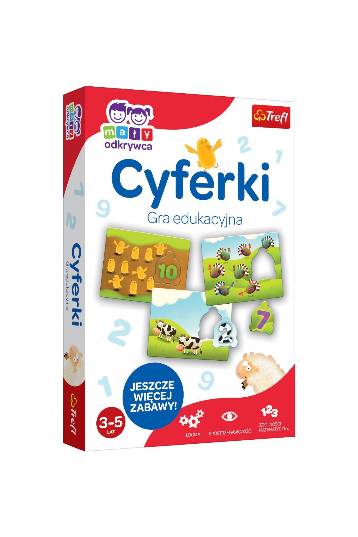 Gra Cyferki-Mały Odkrywca 3-5lat