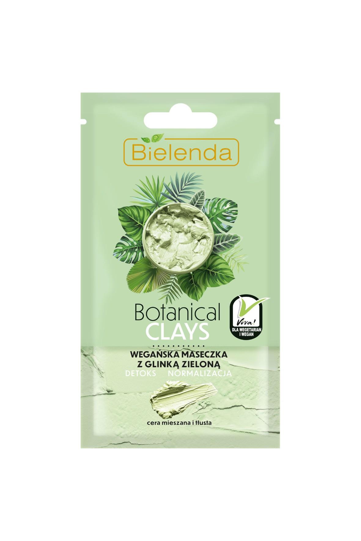 BOTANICAL CLAYS Wegańska maseczka z glinką zieloną - 8 g