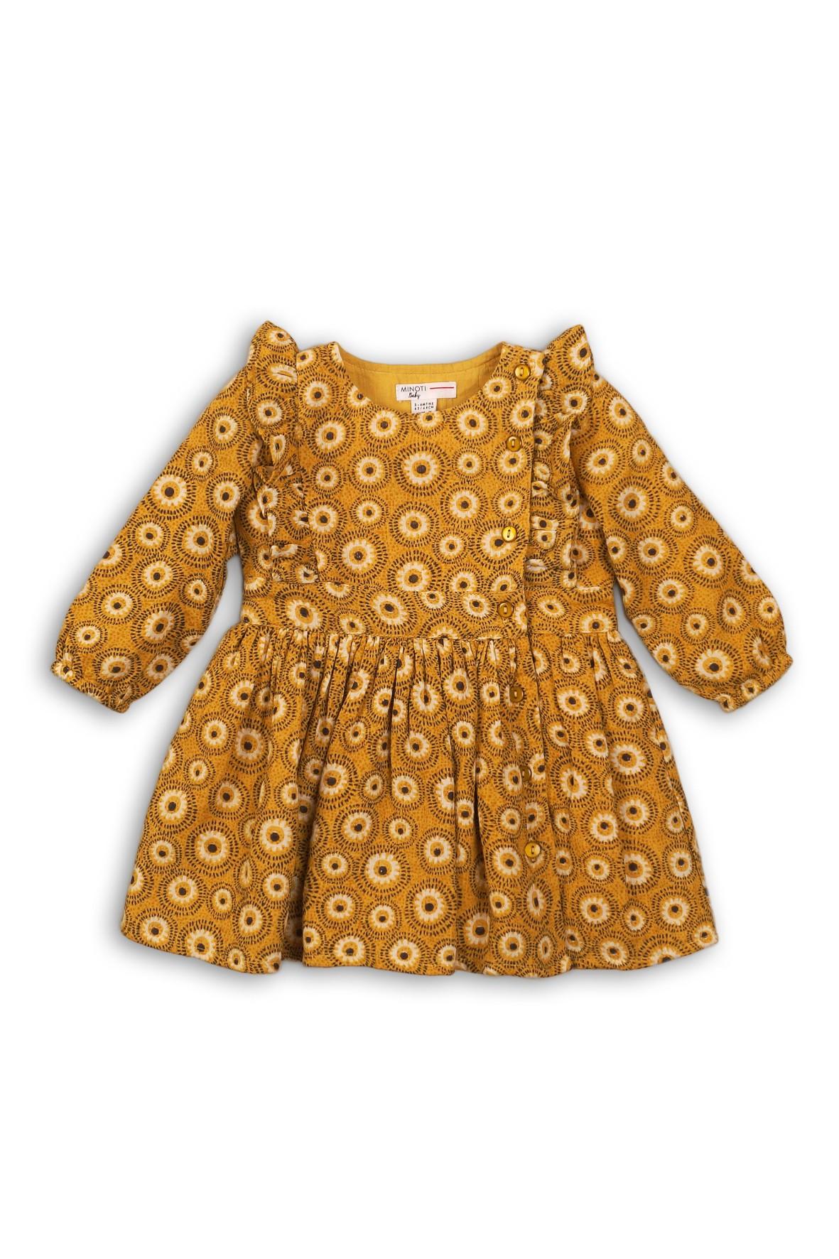 Sukienka dla niemowlaka we wzorki