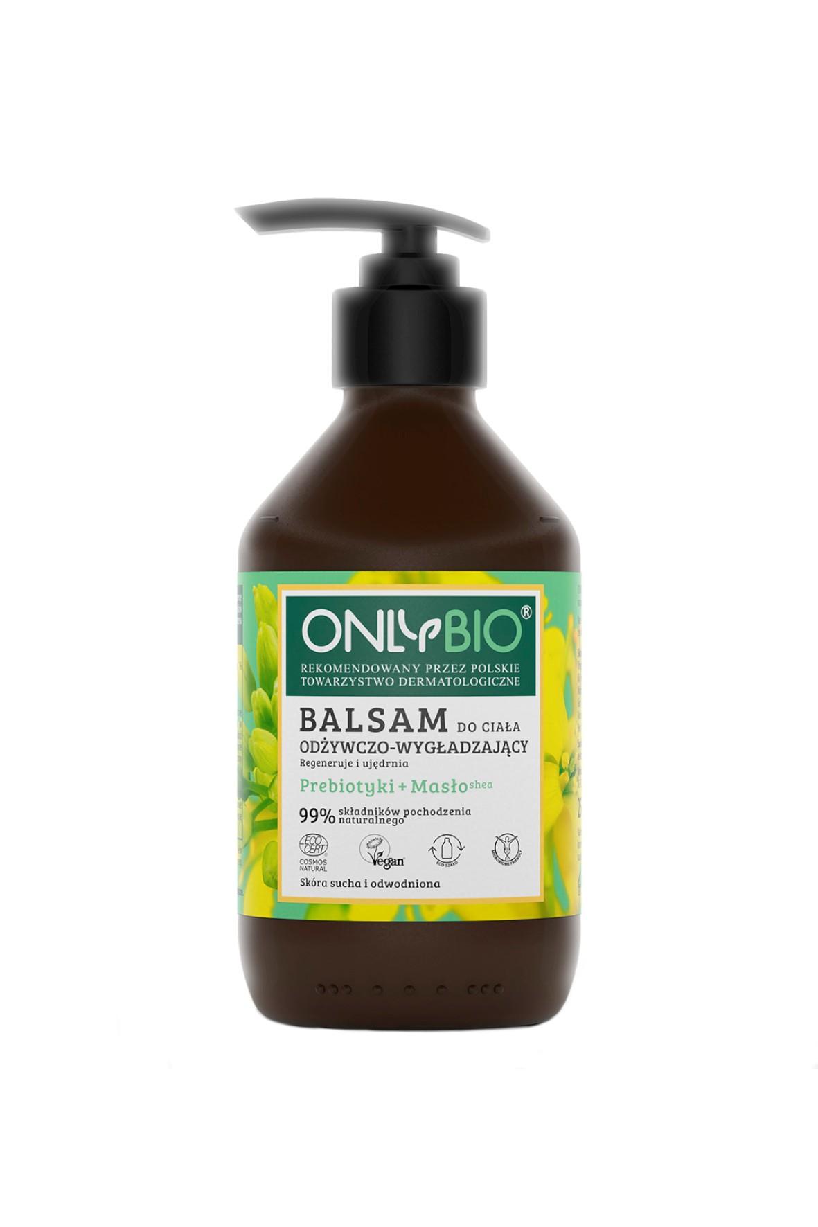 Balsam do ciała odżywczo-wygładzający OnlyBio 250ml