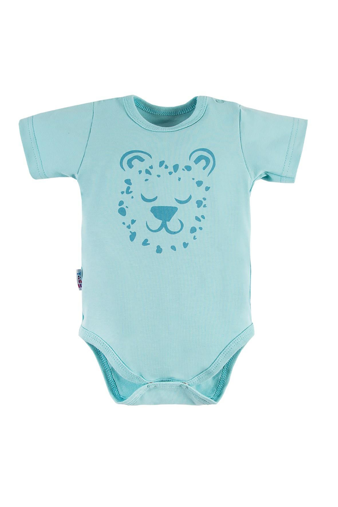 Bawełniane body niemowlęce NATURE