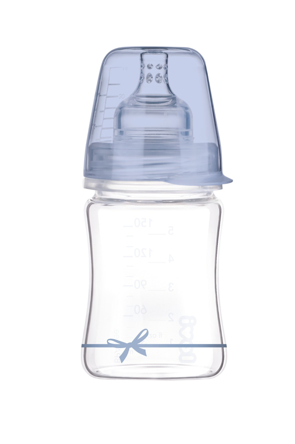 Butelka szklana diamond glass  Lovi 150 ml 0msc+