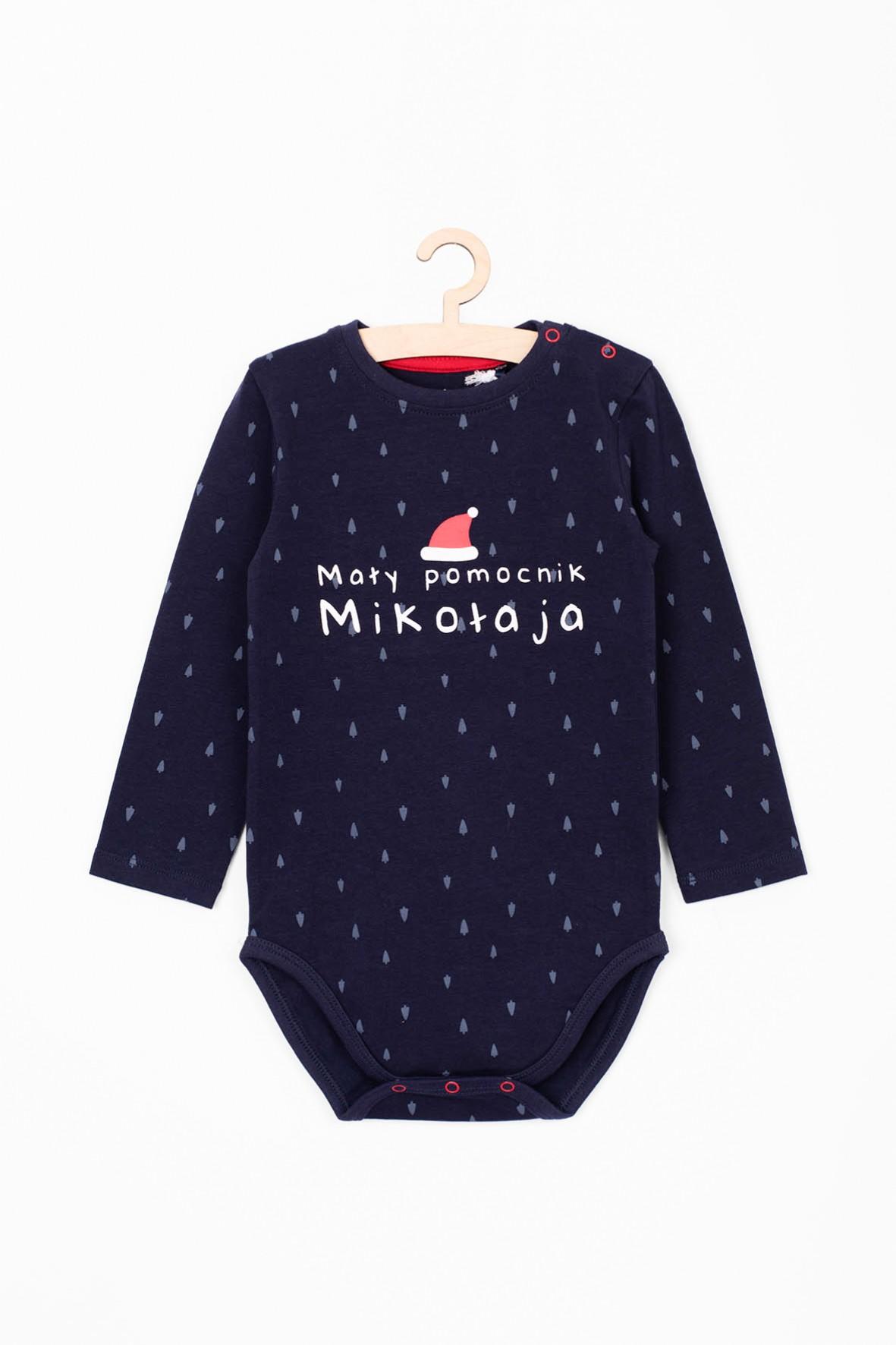 Body niemowlęce- mały pomocnik Mikołaja