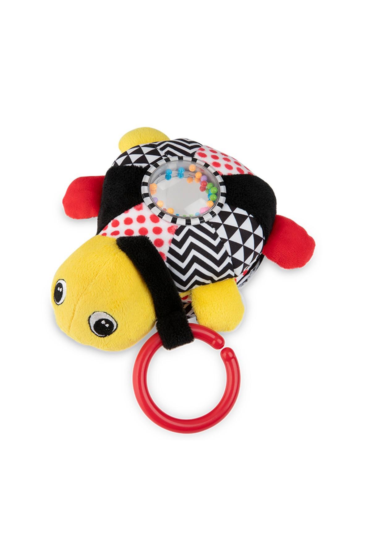 Zabawka edukacyjna z pozytywką i światełkami Żółw morski - żółty