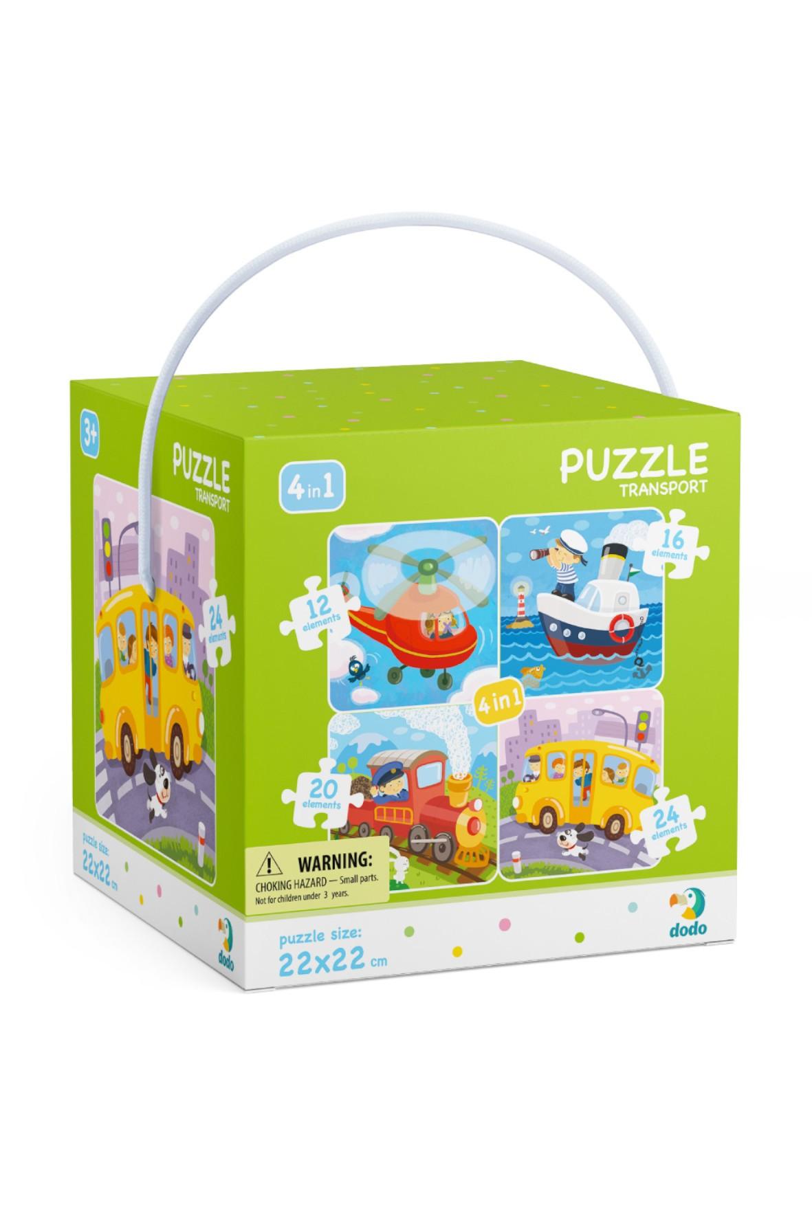 Puzzle 4w1 Transport
