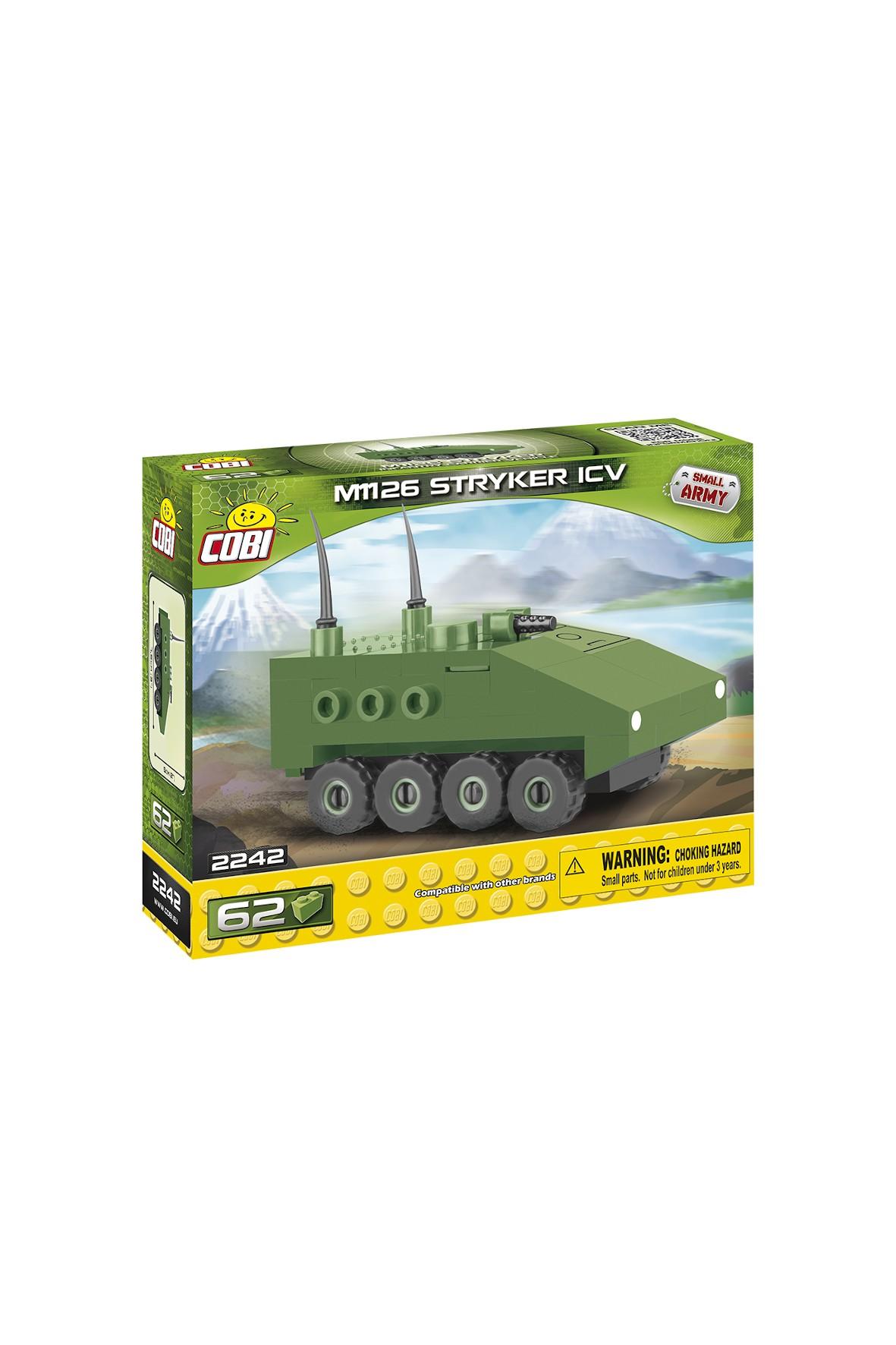 Klocki Cobi Small Army Nano tank strycker ICV 62el