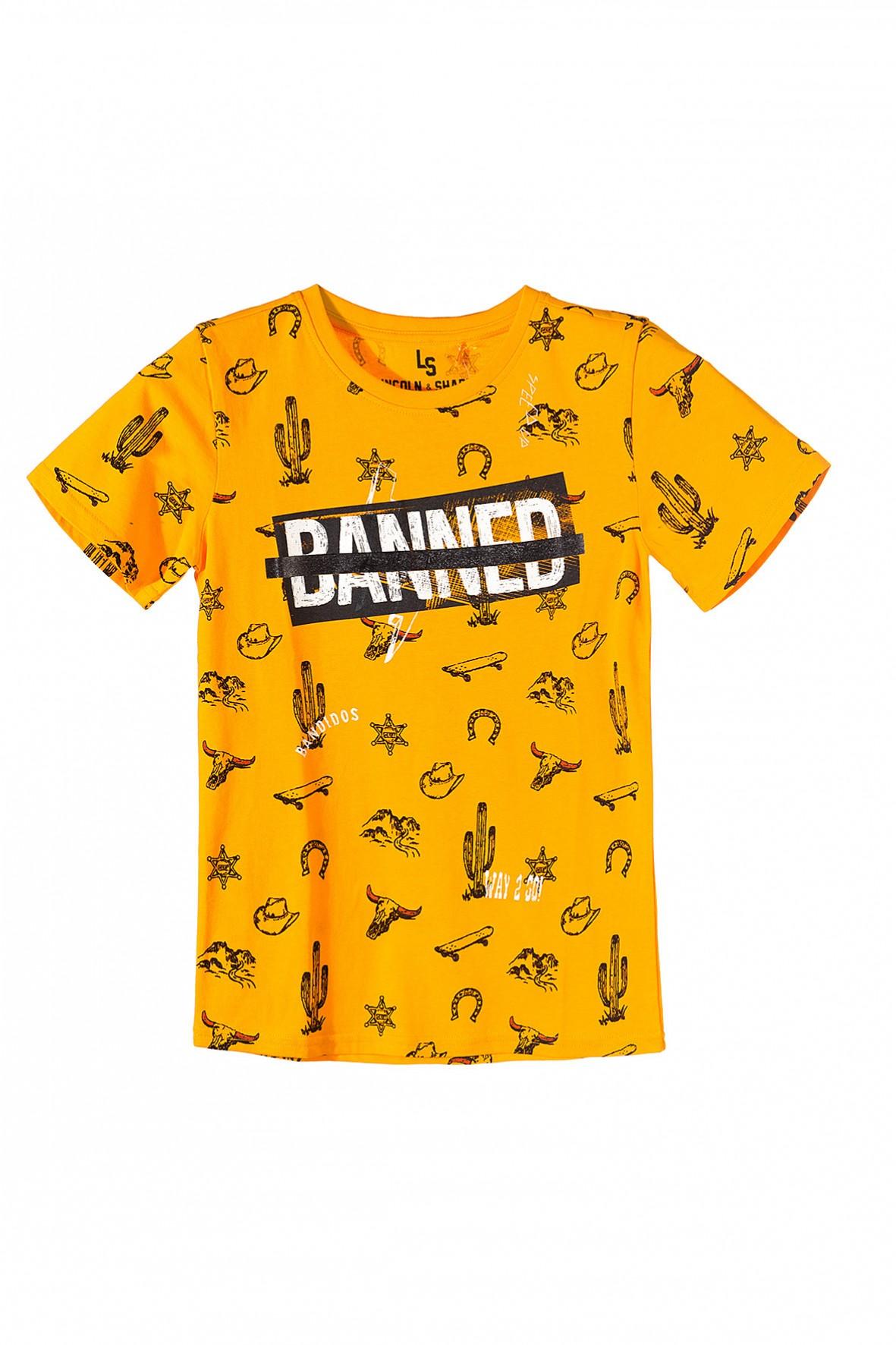 Koszulka chłopięca pomarańczowa