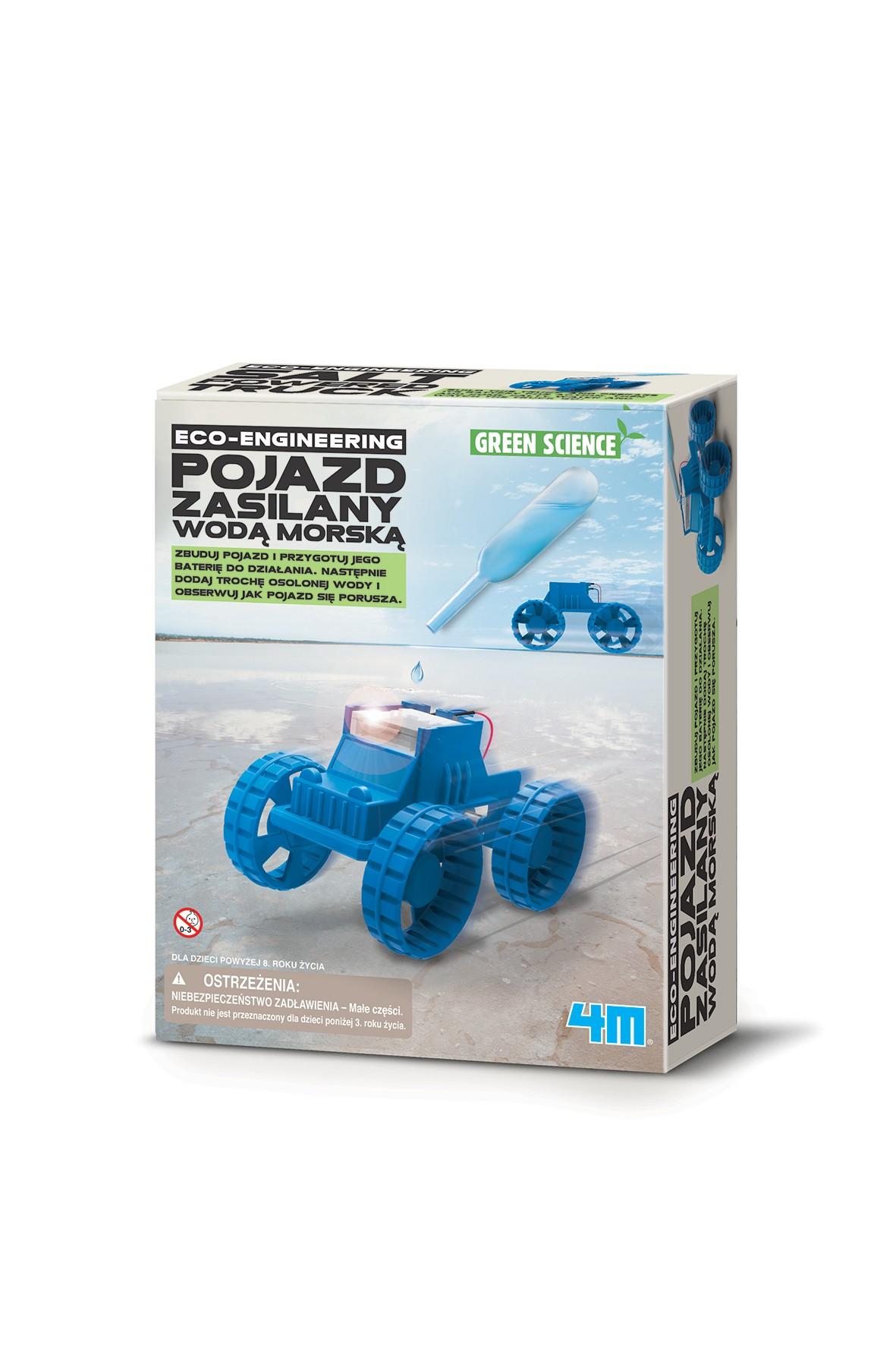 Zbuduj- Pojazd zasilany wodą morską 5+