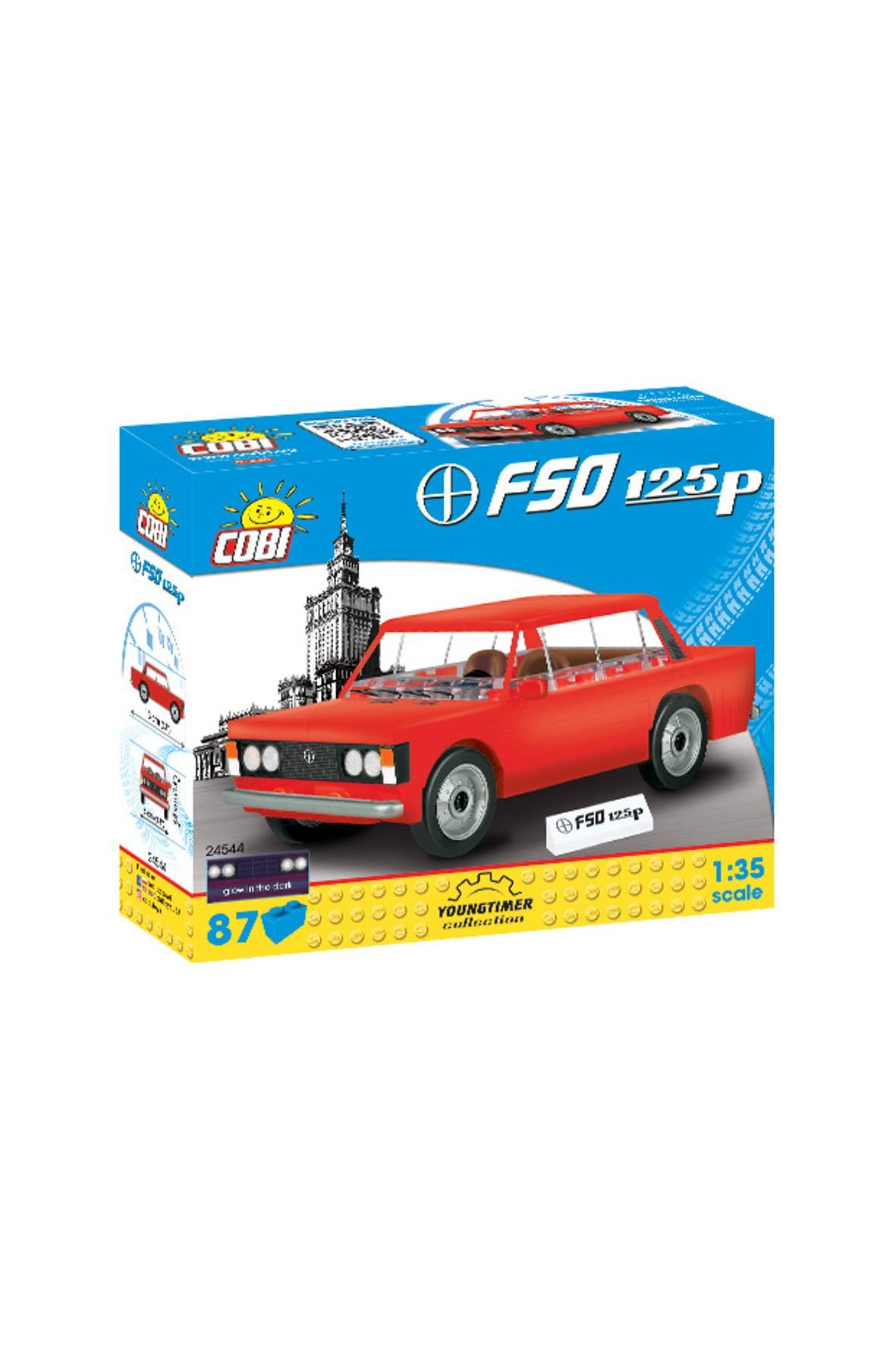 Klocki COBI Polski Fiat FSO 1,5ME 89el