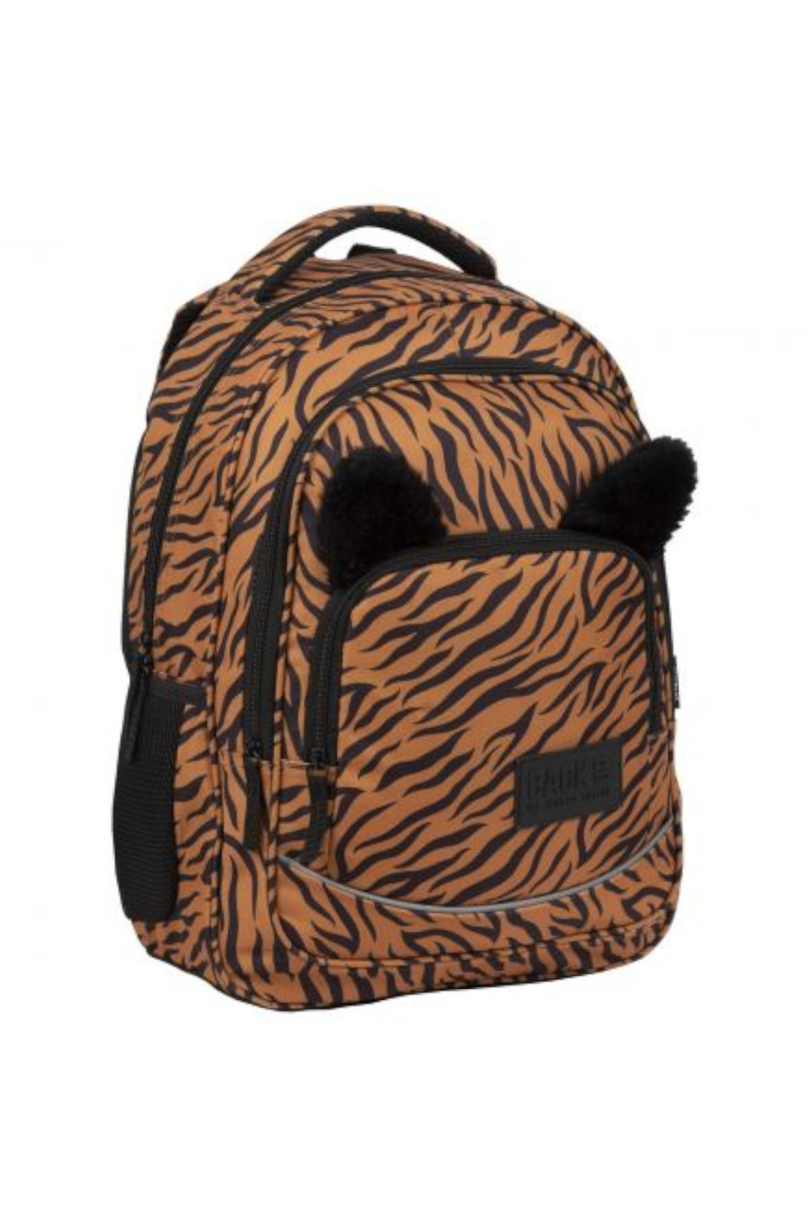 Plecak szkolny  dziewczęcy Tygrys
