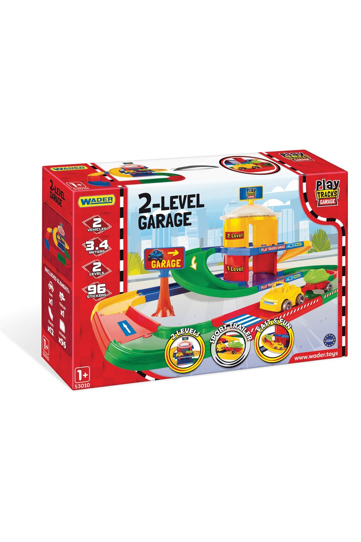Garaż 2-poziomowy Play Tracks Garage