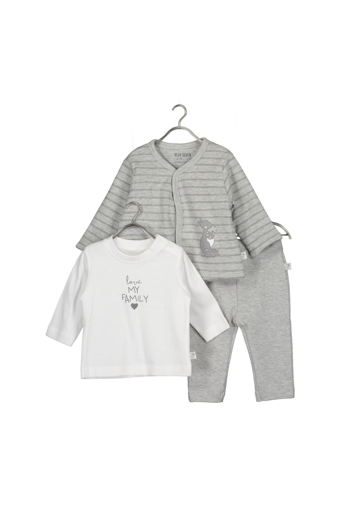 Komplet bawełnianych ubrań dla niemowlaka