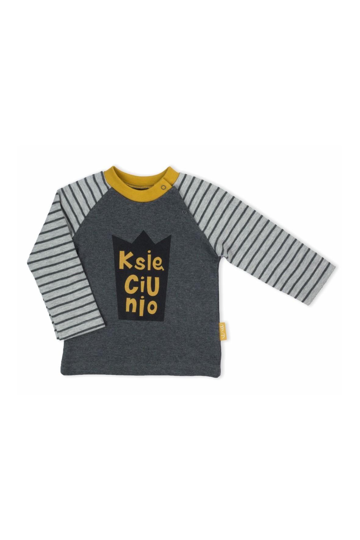 Bluzka niemowlęca długi rękaw- Księciunio