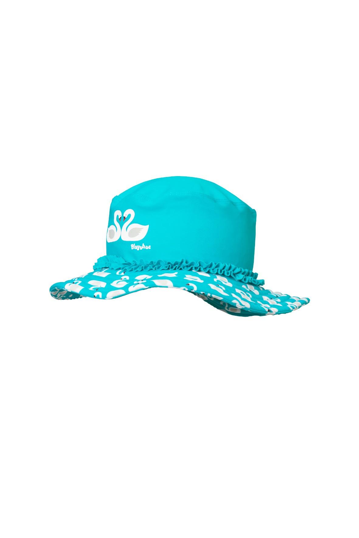 Kapelusz z filtrem UV 50+ łabędź