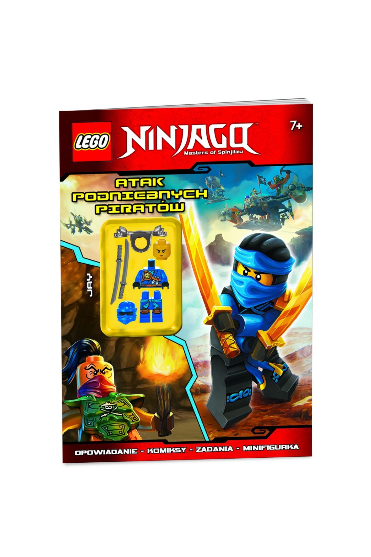 Książka Lego Ninjago Atak Piratów 1Y31B4
