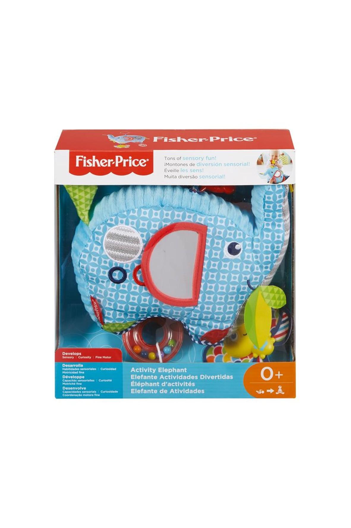 Fisher Price słonik- grzechotka