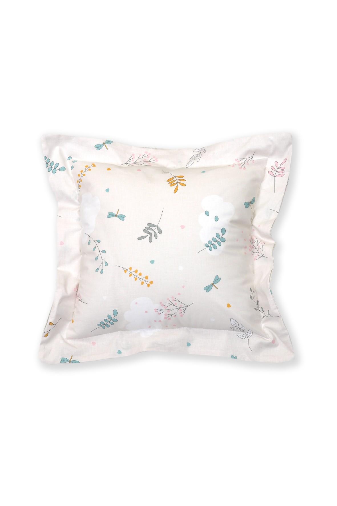 Poduszka i poszewka na poduszkę- ozdobna, przeszywana - gałązki