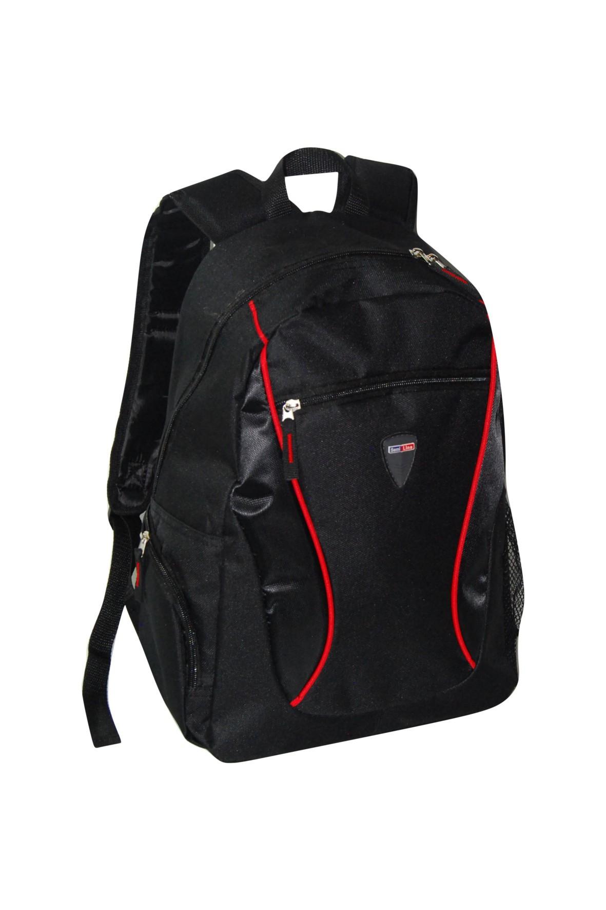 b2de6b613afd7 Idealny do szkoły plecak dla chłopca z kieszeniami i miejscem na bidon.