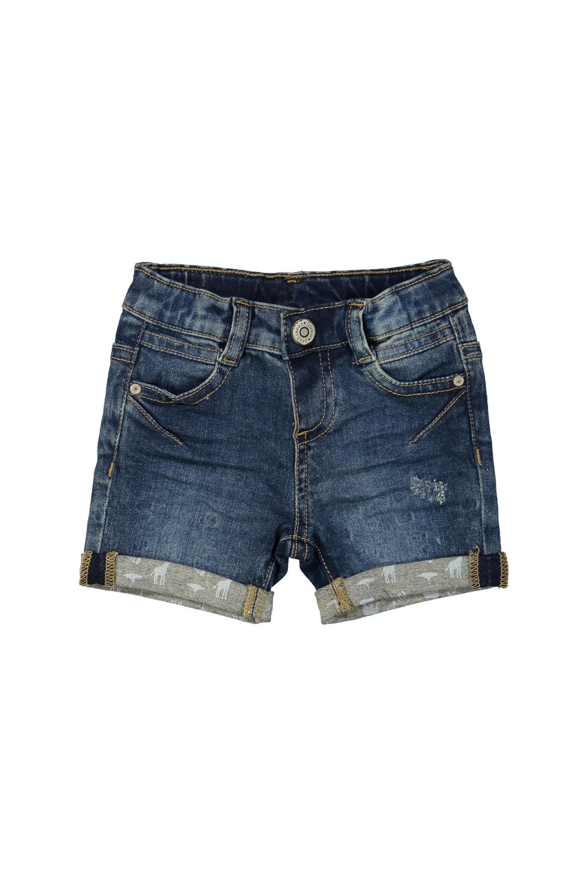 Spodenki jeansowe dla chlopca- niebieskie