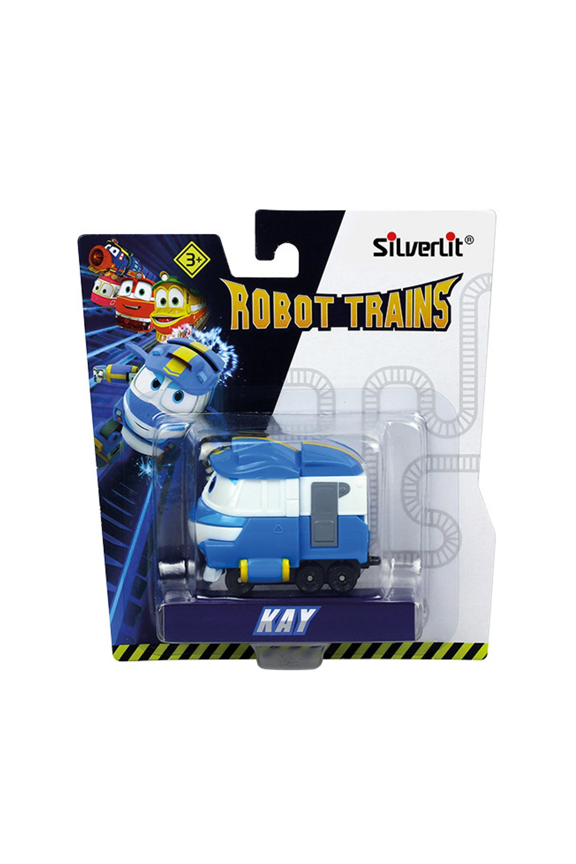 Lokomotywa Robot Trains Pojazd Kay