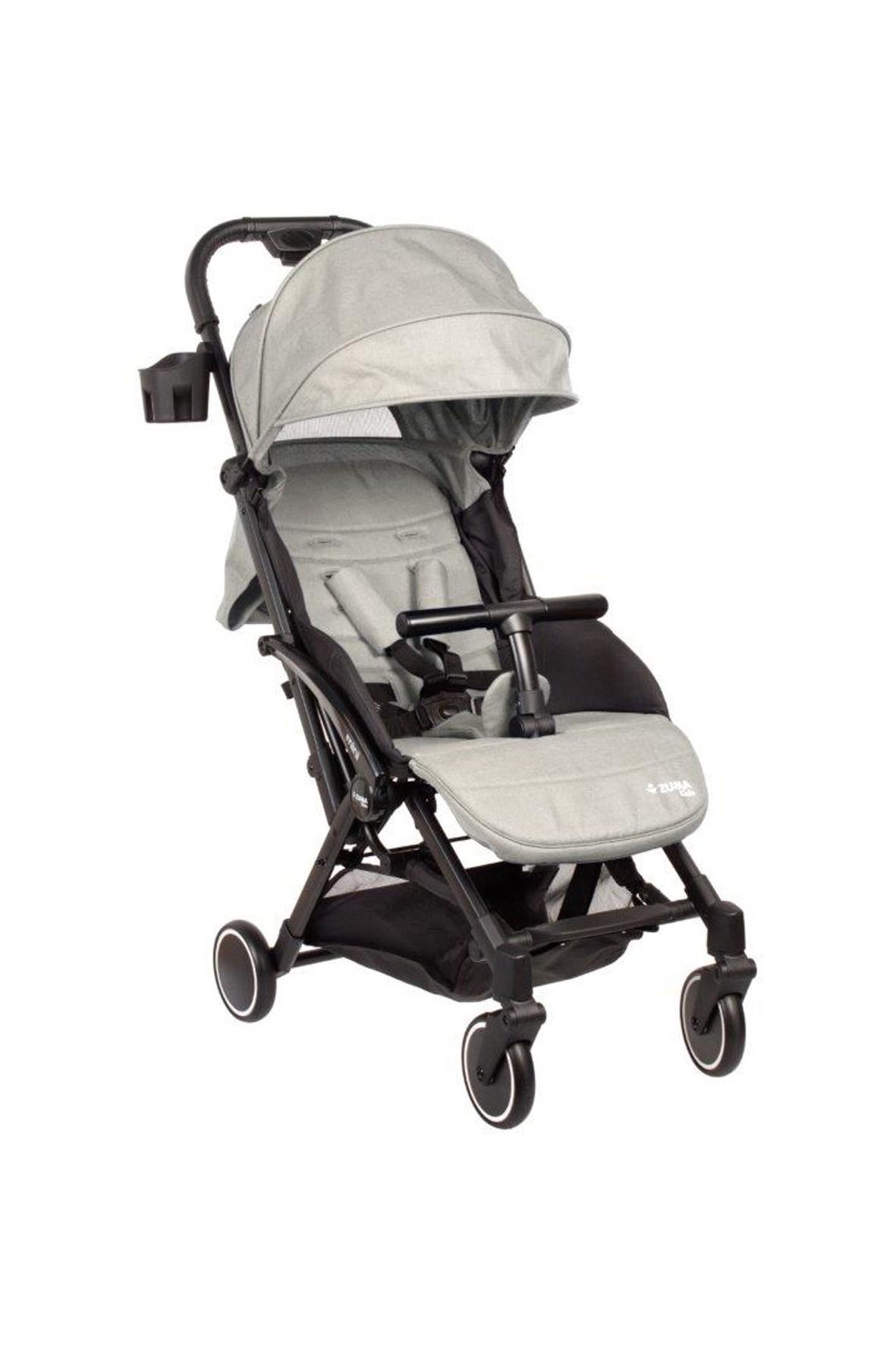 Wózek spacerowy Zuma Kids Mini-beżowy 6-36msc