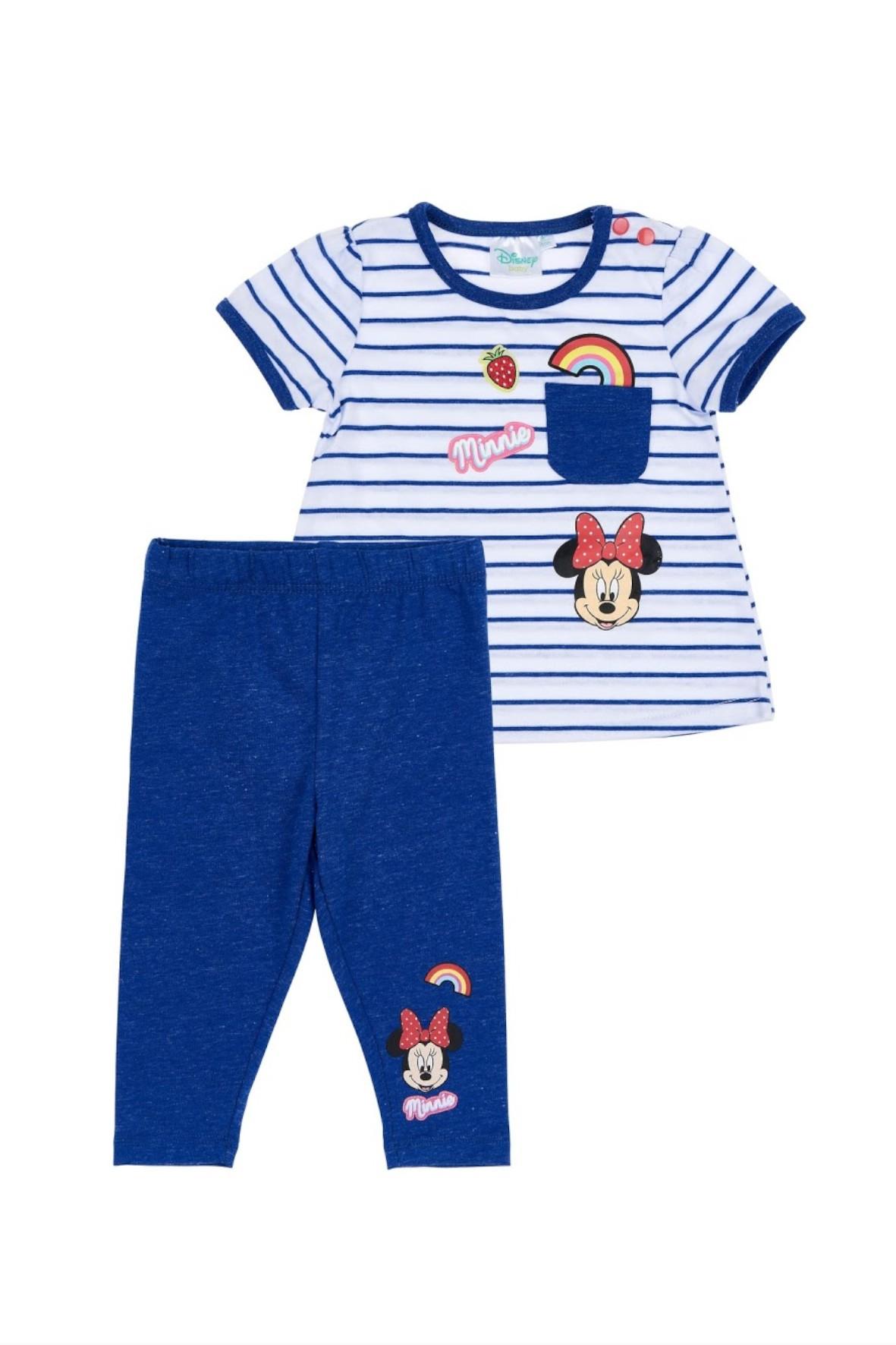 Komplet dziewczęcy- t-shirt i leginsy Minnie Mouse