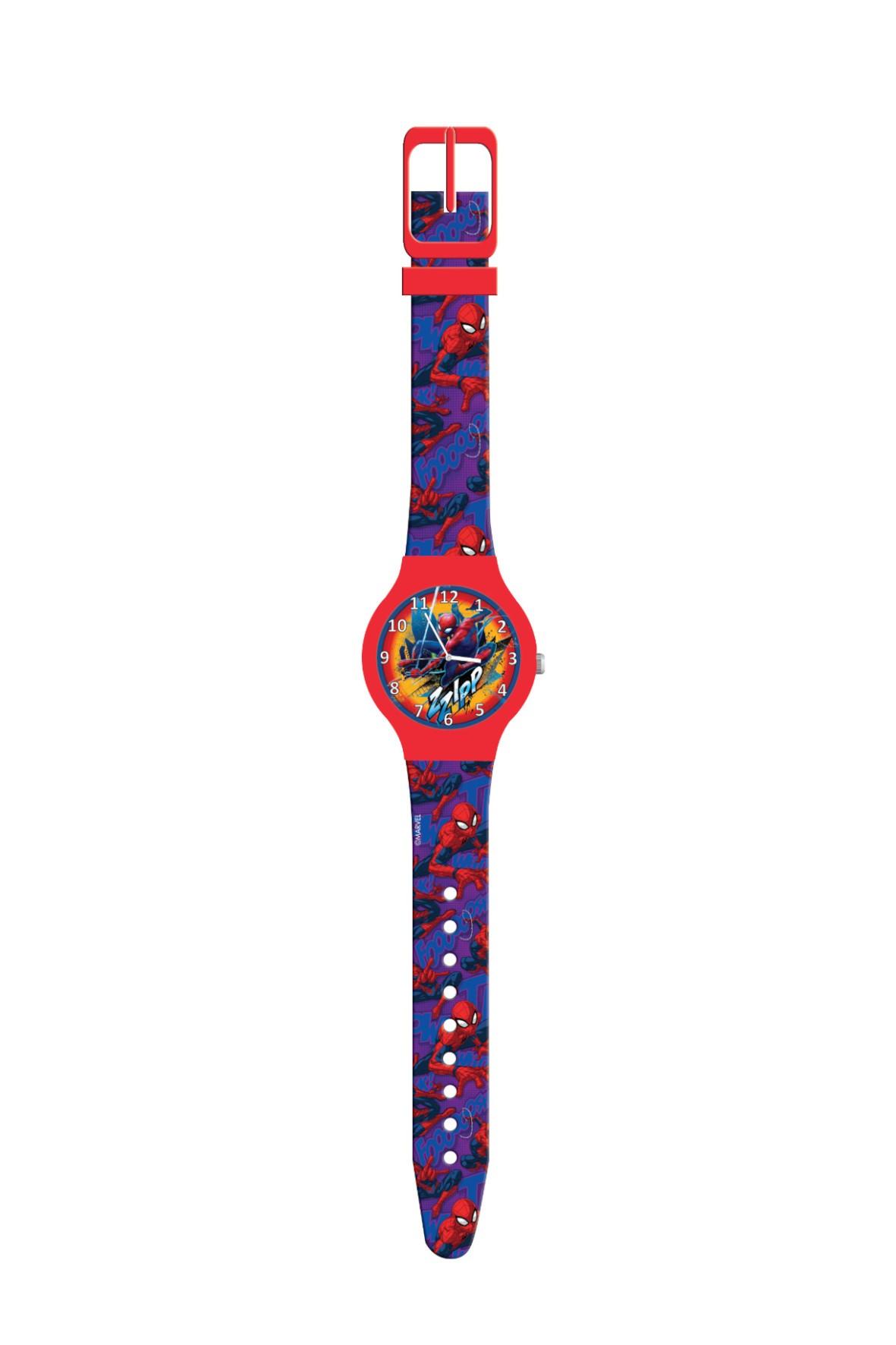 Zegarek analogowy w puszce SPIDERMAN