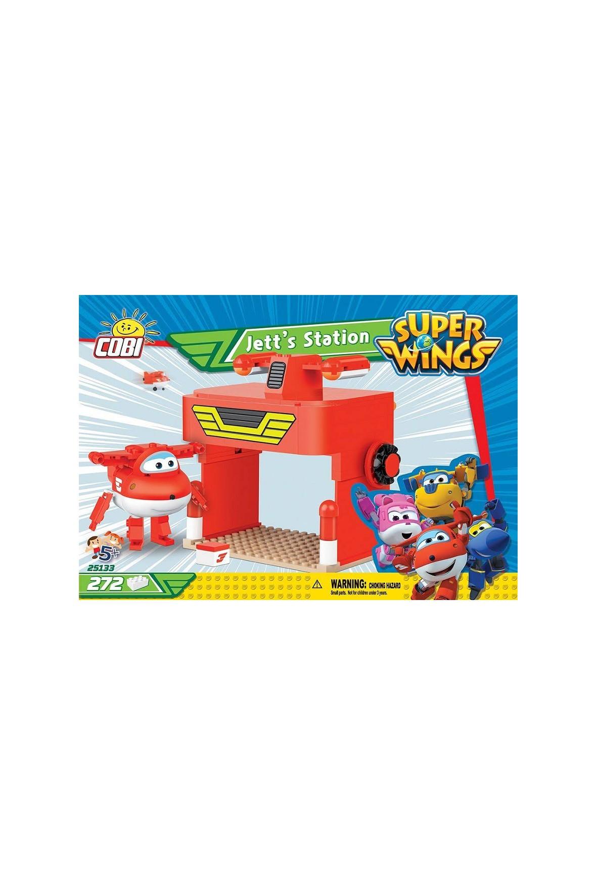 Klocki COBI Super Wings Garaż Dżetka