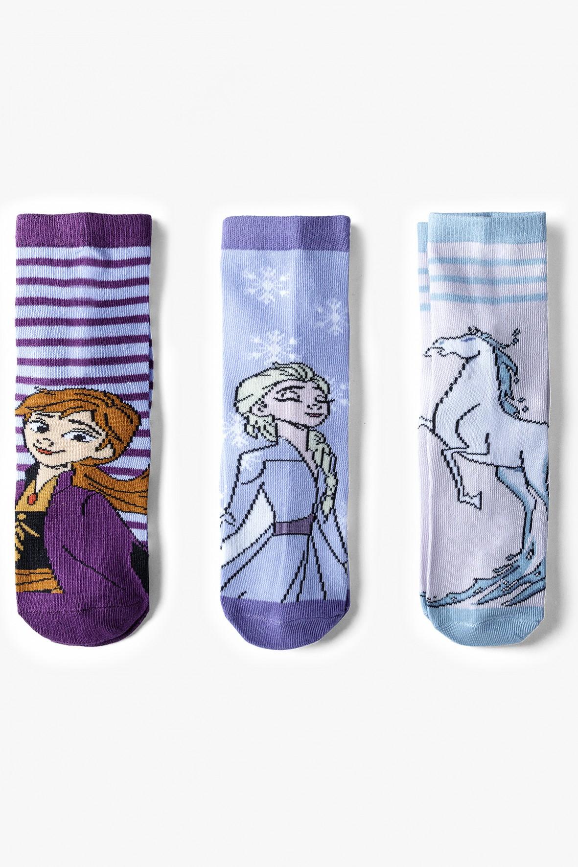 Skarpetki dziewczęce Frozen 3-pak