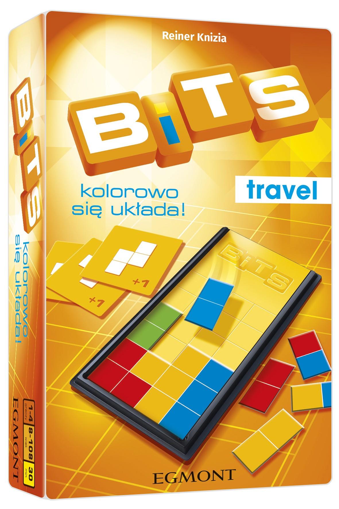 Gry dziecięce  - Bits. Kolorowo się układa wiek 8+
