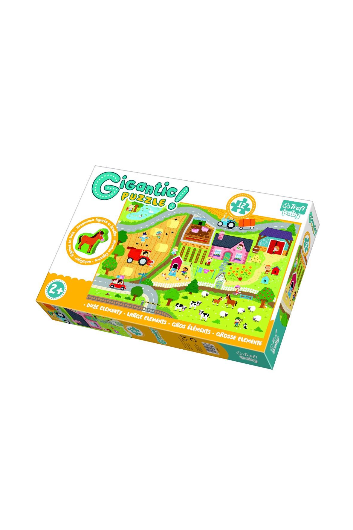 Puzzle - Gigantic - Wieś