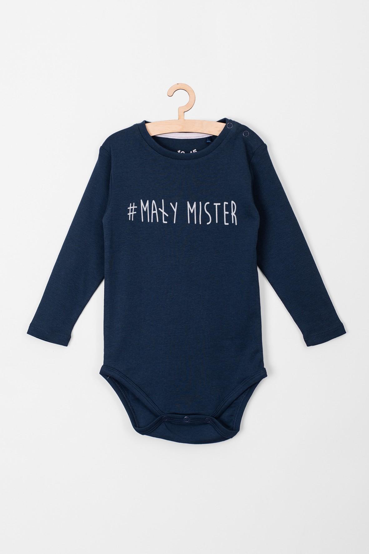 Body chłopięce z długim rękawem #mały mister