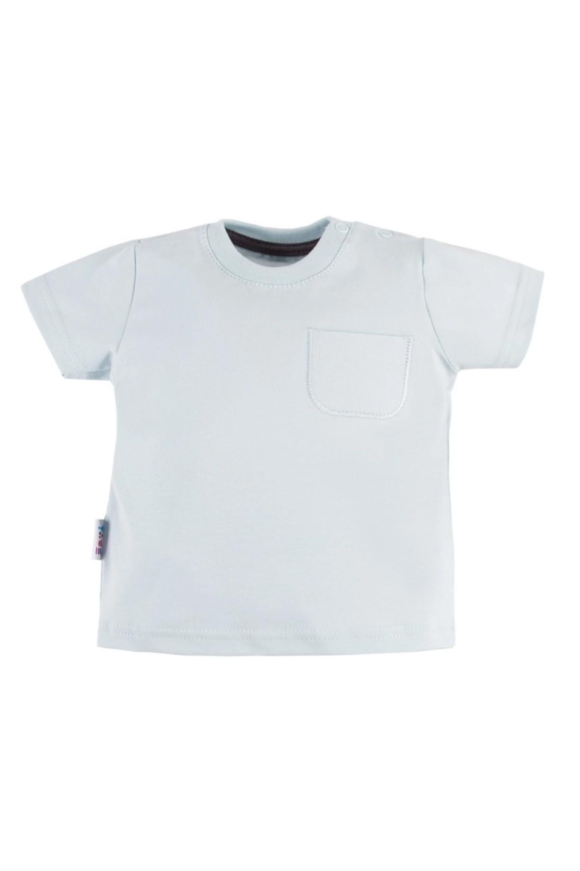 T-shirt LAZY DAYS niebeski