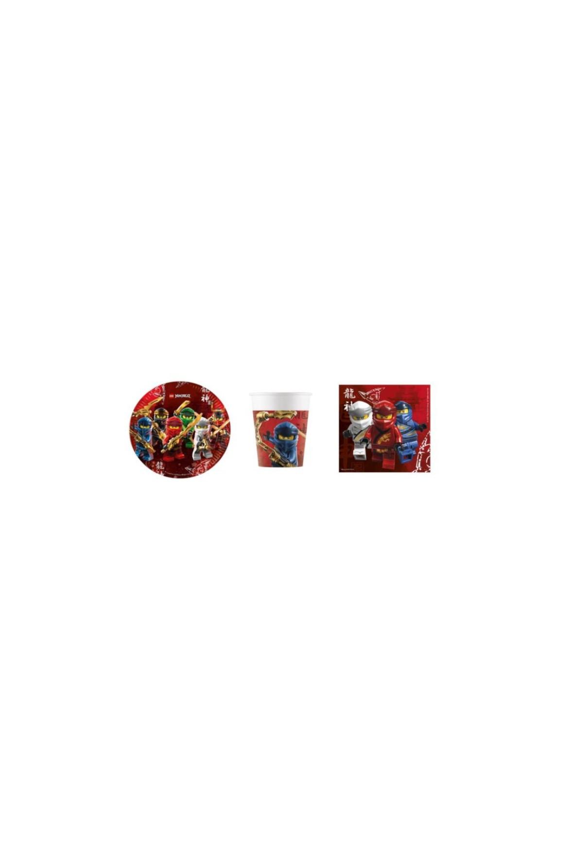 Zestaw urodzinowy  Lego Ninjago      - 36 elementów