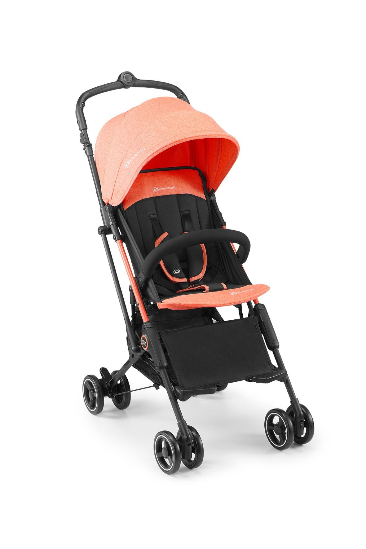 Wózek spacerowy Mini Dot Kinderkraft koral 0-15kg