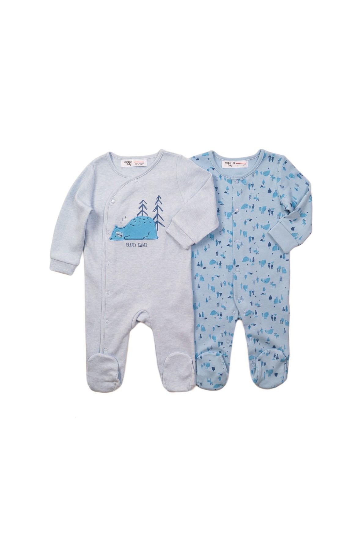 Pajace niemowlęce - niebieskie