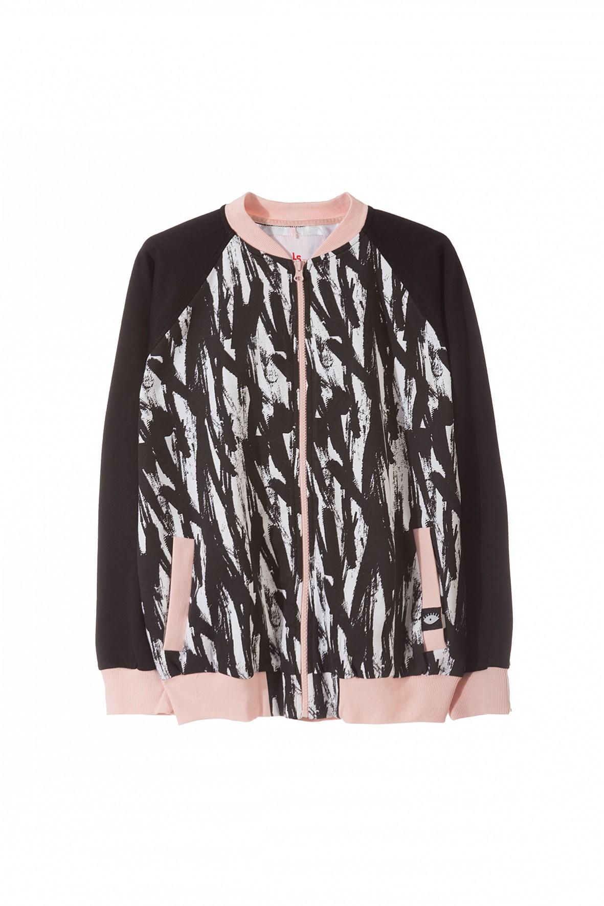Bluza dresowa dla dziewczynki 4F3202