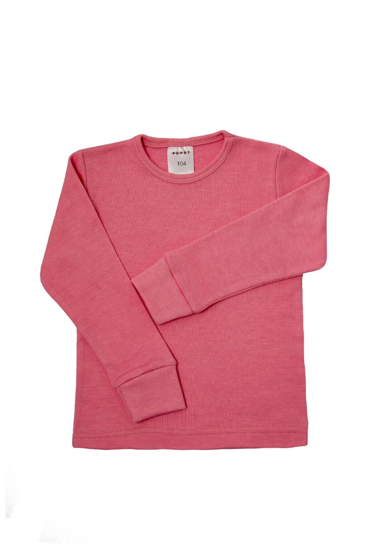 Podkoszulek dziewczęcy bieliźniany- różowy