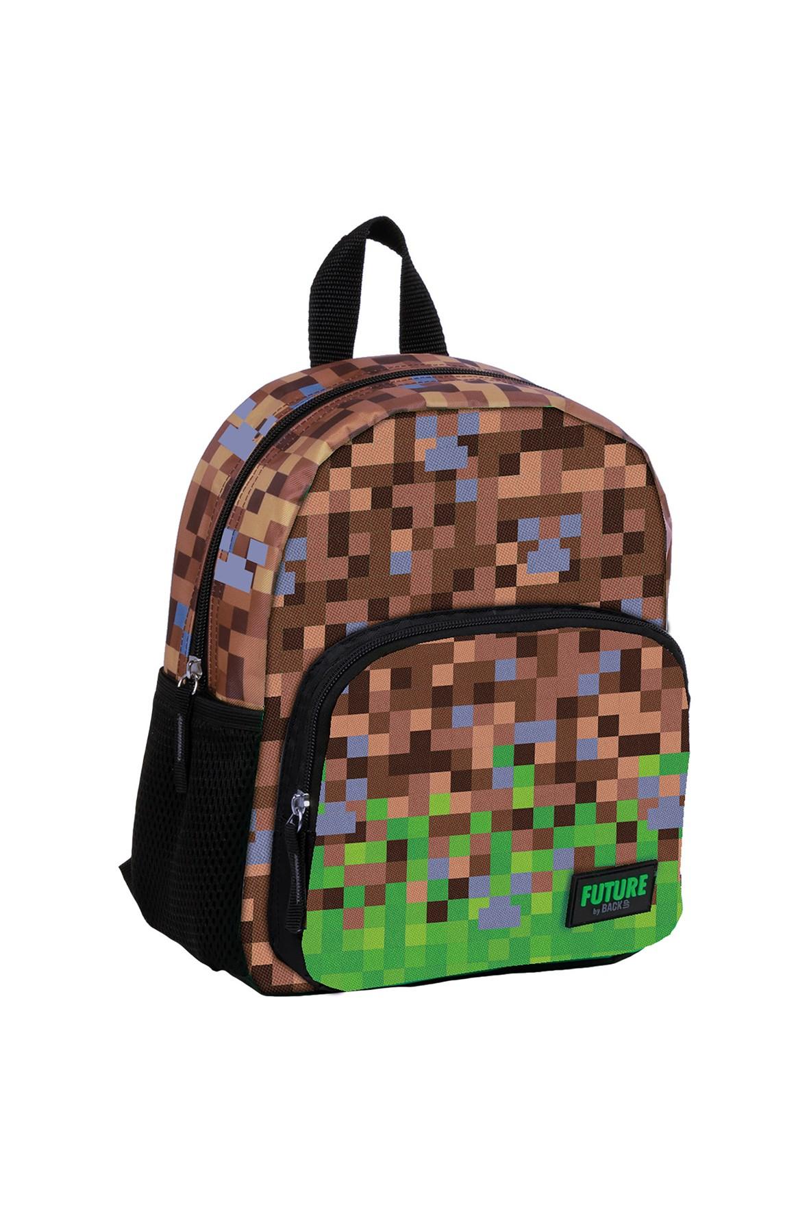 Plecak game zielony - Piksele