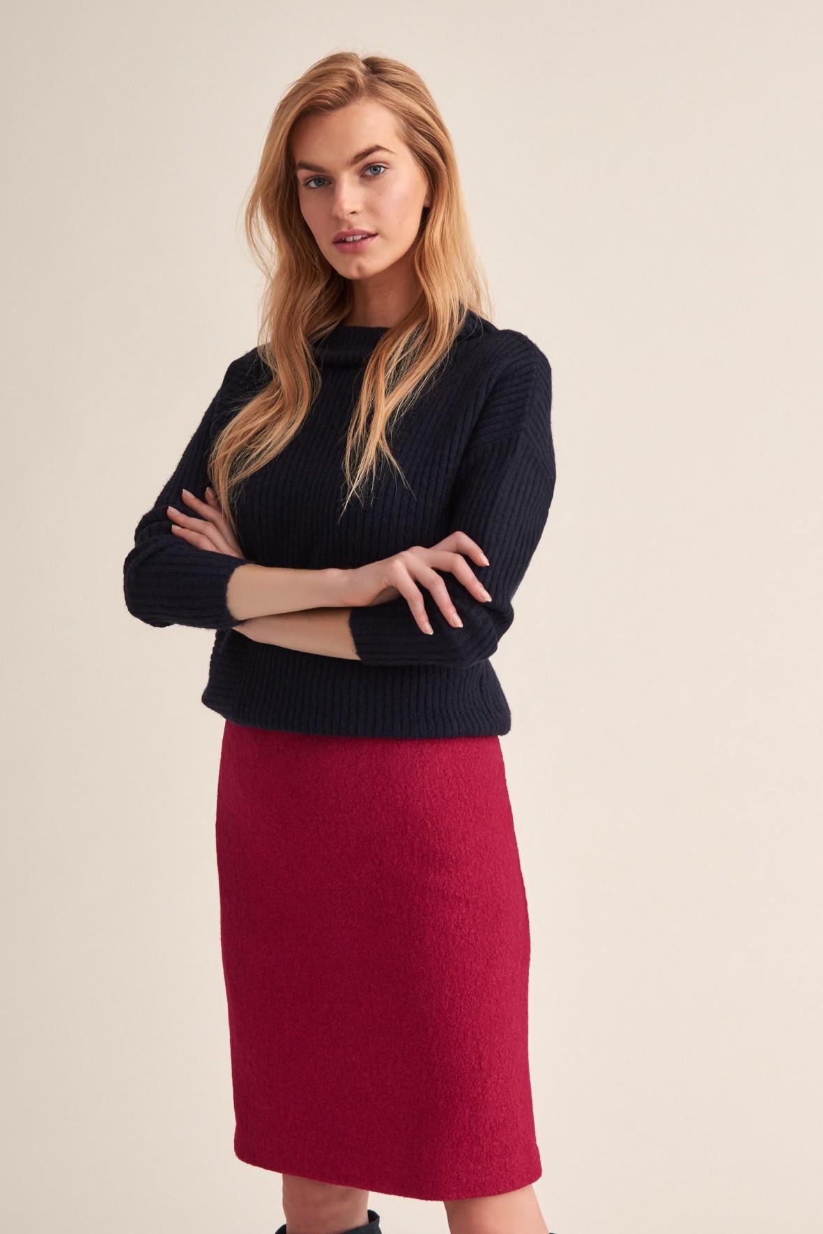 Sweter damski Maili - granatowy
