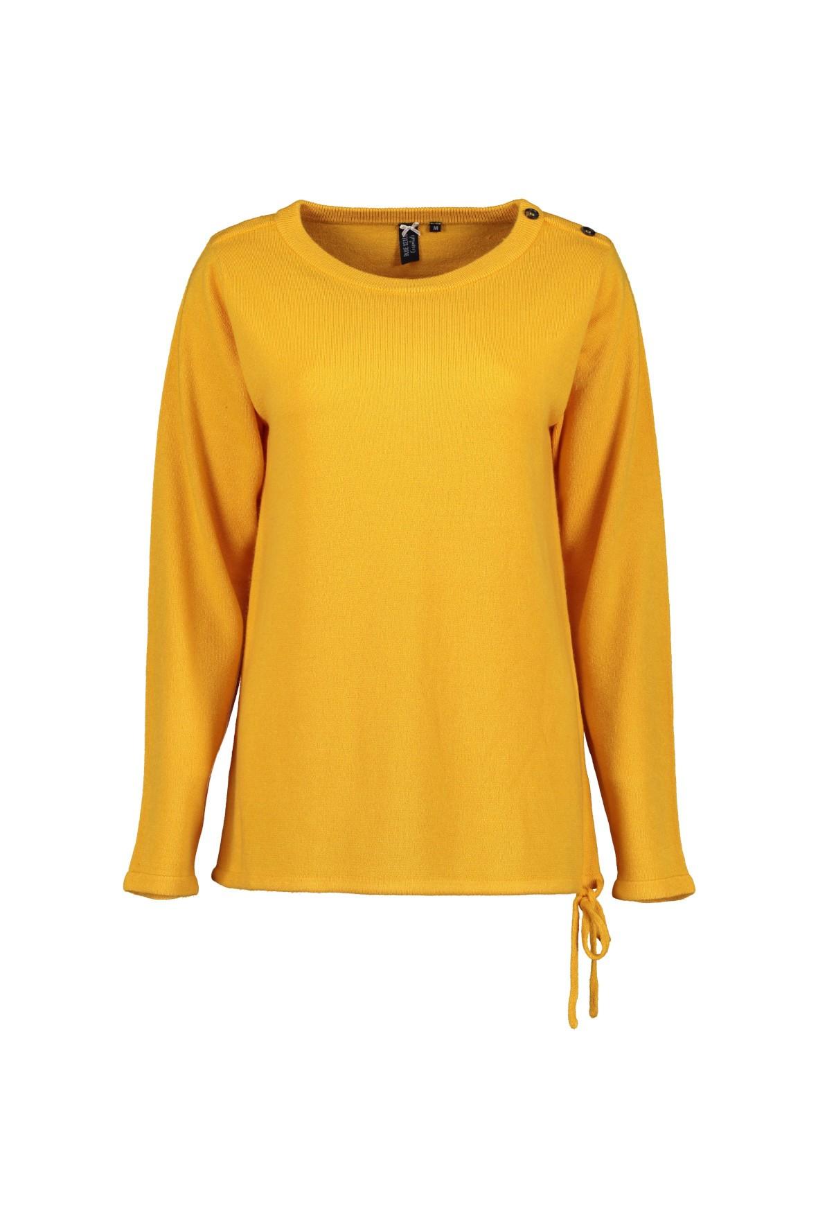 Sweter damski w kolorze modowym