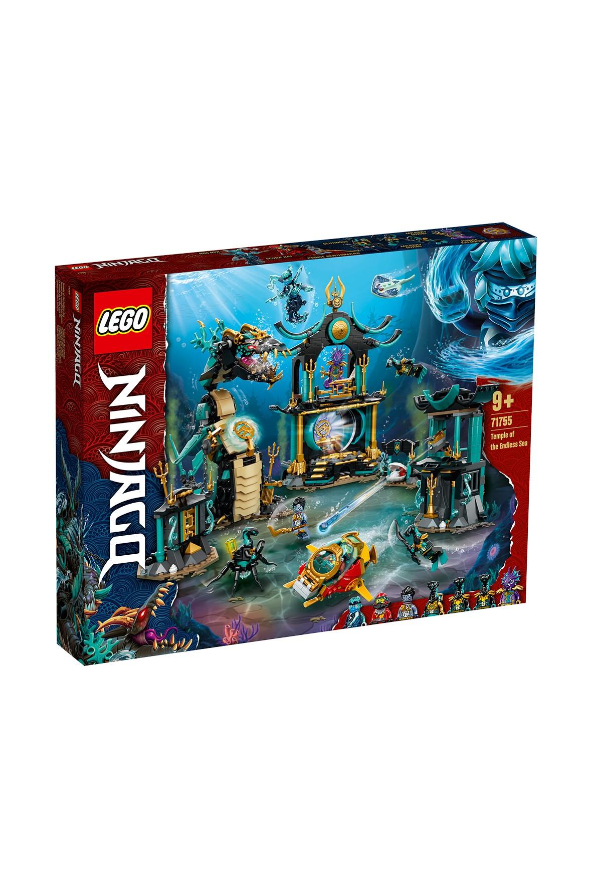LEGO Ninjago - Świątynia Bezkresnego Morza 71755  - 1060 el wiek 9+
