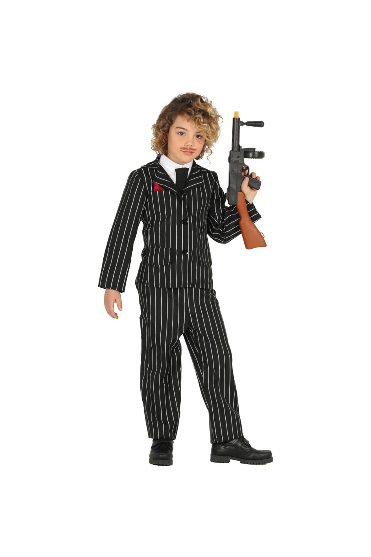 Strój Karnawał Gangster 5-9 lat