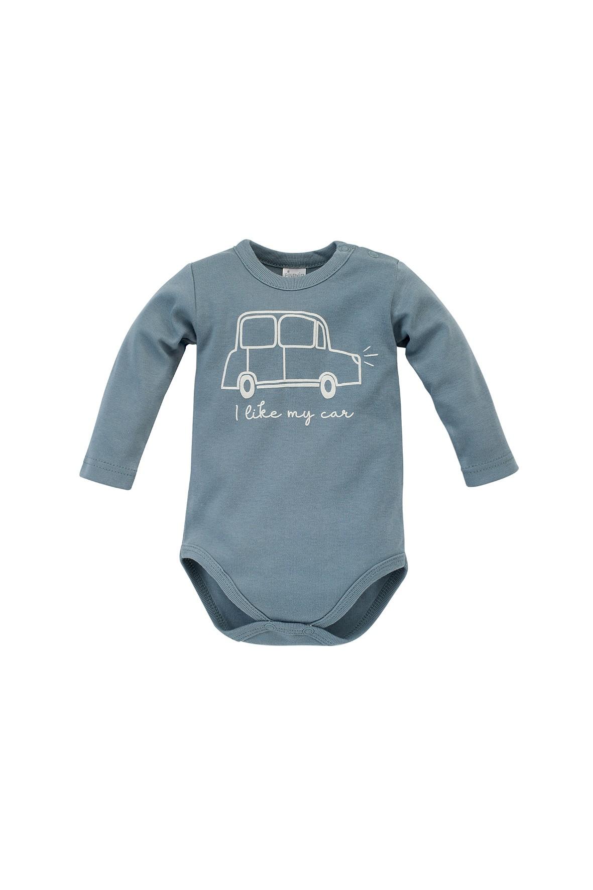 Body niemowlęce bawełniane Little Car