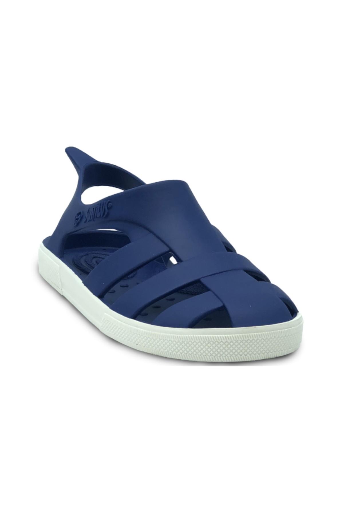 Niebieskie sandały dla dziecka- zapach startej skórki cytryny