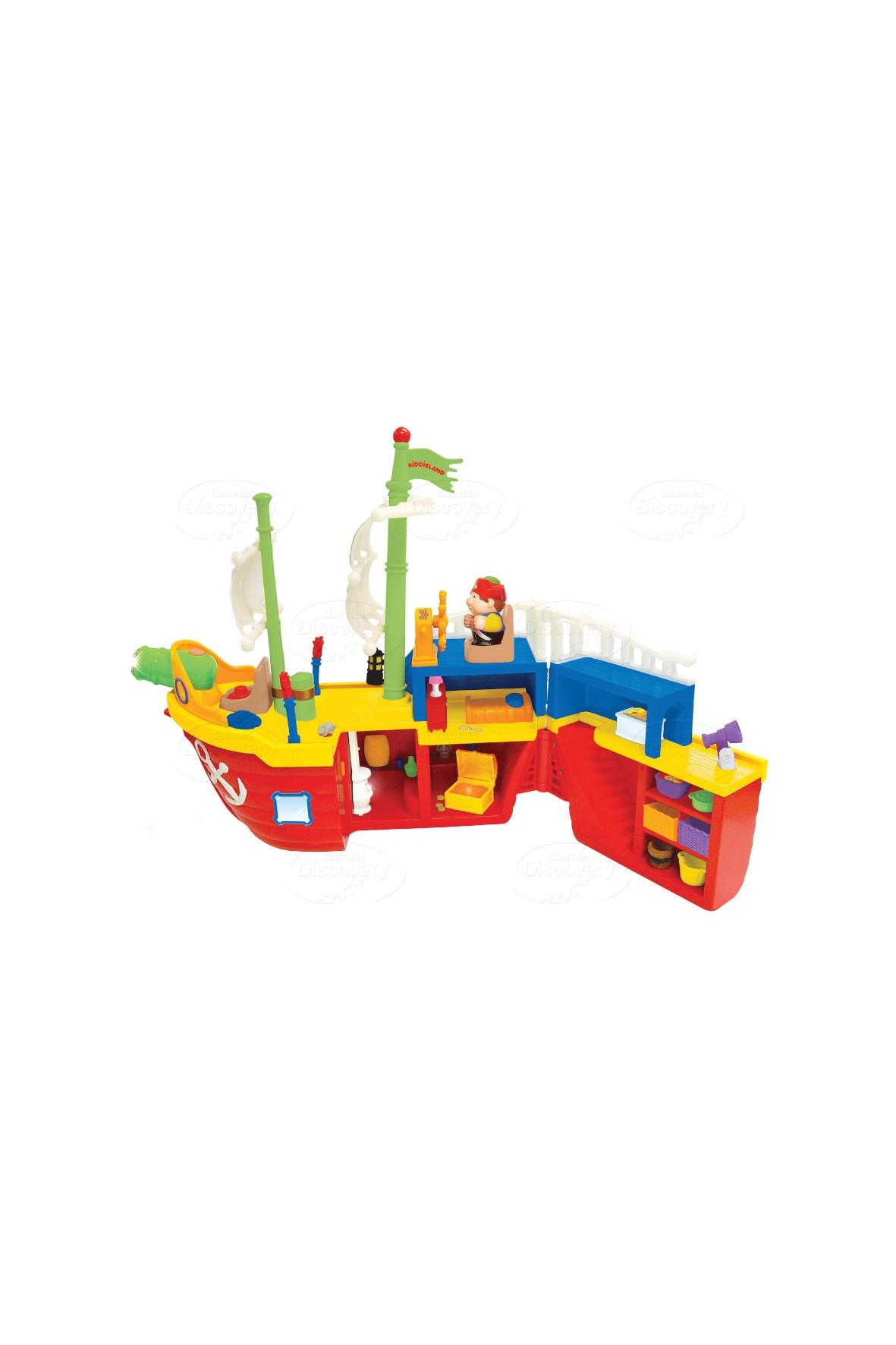 Statek Piracki- zabawka 12msc+