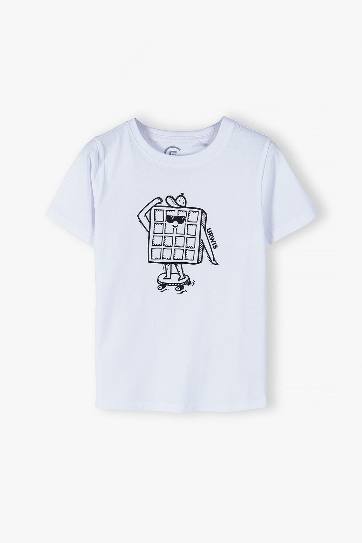 T-shirt chłopięcy z napisem Urwis