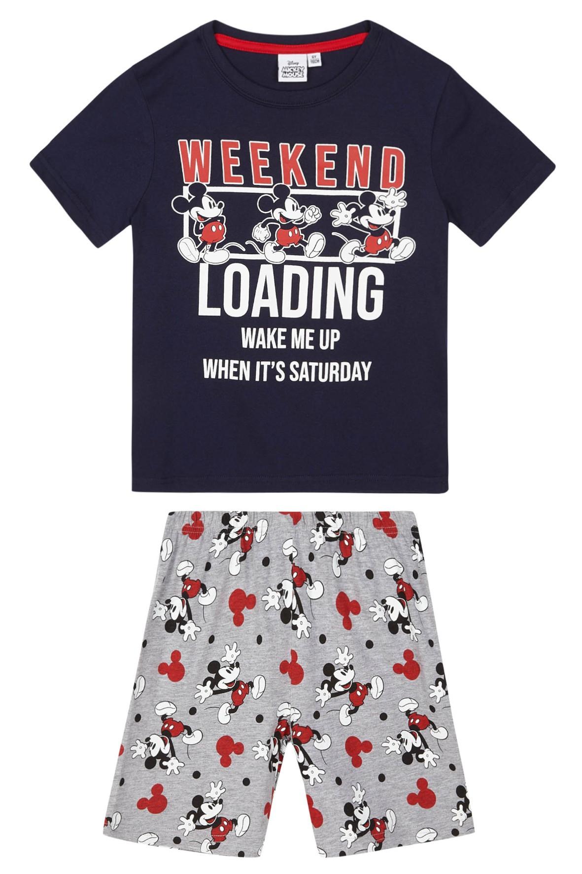 Piżama chłopięca dwuczęściowa Mickey Mouse